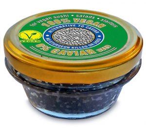 100% végétal alternative au caviar